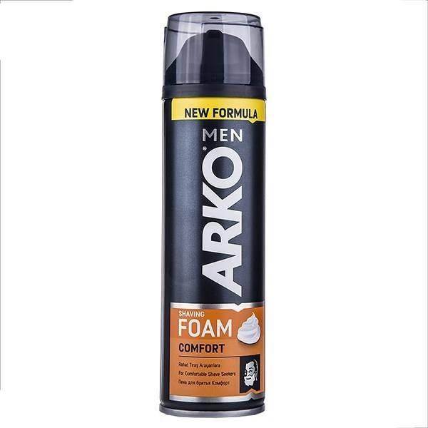 فوم اصلاح آرکو ARKO مدل COMFORT حجم 200 میل