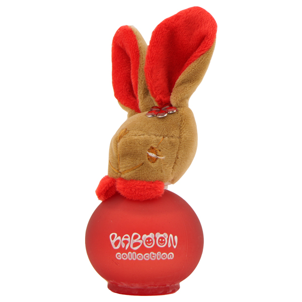 عطر دخترانه بابون ( Babon ) طرح خرگوش قرمز حجم 50 میل