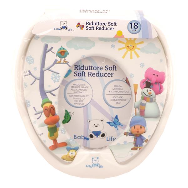 تبدیل توالت فرنگی کودک Baby 4 life طرح آدم برفی