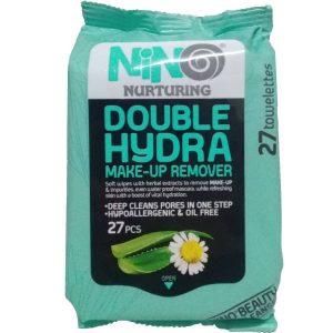 دستمال مرطوب پاک کننده آرایش آبرسان نینو 27 عددی