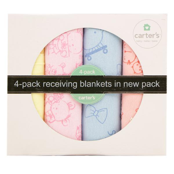 دستمال خشک کن رنگارنگ کارترز (Carter's) بسته 4 عددی