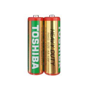 باتری نیم قلمی TOSHIBA مدل HEAVY DUTY R03
