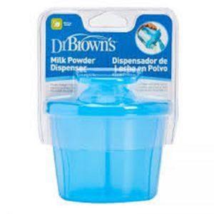 ظرف نگهدارنده شیر خشک DR BROWNS ظرفیت 250 میل آبی