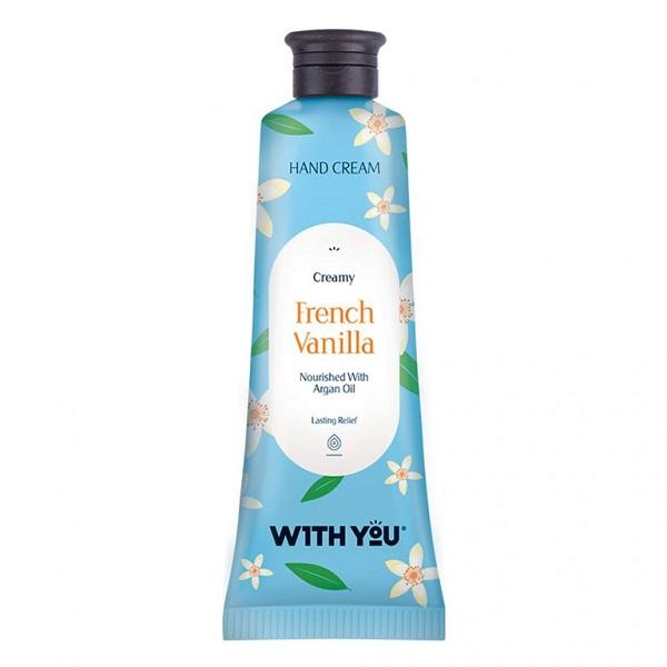 کرم ترمیم کننده دست W1TH YOU مناسب پوست های خشک