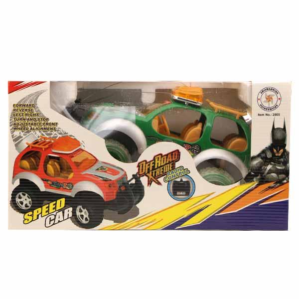 ماشین آفرود کنترلی SPEED CAR سبز