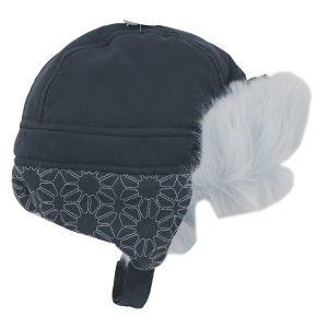 کلاه زمستانی پاپو papo کد 247 مدل cool سرمه ای