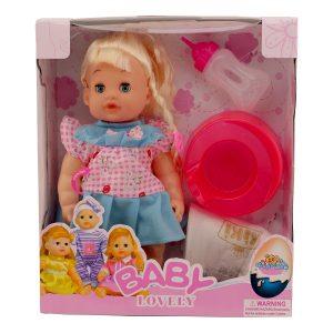 عروسک دختر بیبی لاولی BABY LOVELY مدل 132