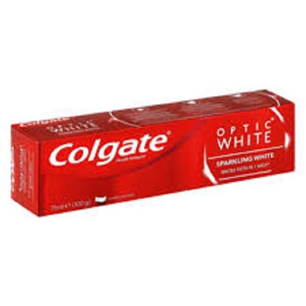 خمیر دندان Colgate مدل optic white حجم 75 میل