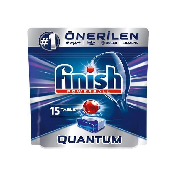 قرص ماشین ظرفشویی فینیش مدل کوانتوم بسته 15 عددی