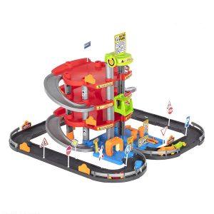 اسباب بازی پارکینگ طبقاتی 4 طبقه زیبا تویز
