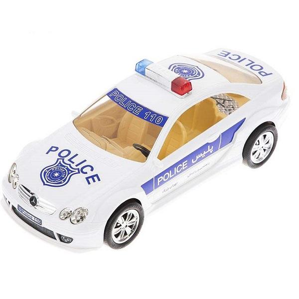 ماشین اسباب بازی بنز پلیس درج توی