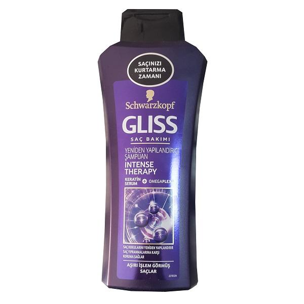 شامپو گلیس مناسب موهای سست و ضعیف حجم 525 میل