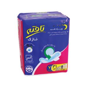 نوار بهداشتی نازک بالدار مشبک تافته ویژه شب 7 عددی