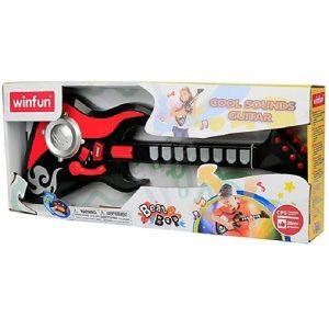 اسباب بازی گیتار 8 کلید الکتریک winFun کد 2054