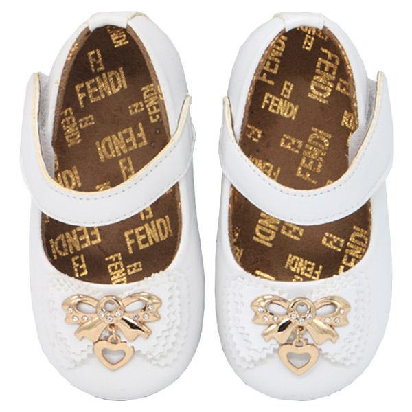 کفش دخترانه پاپیون دار ورنی رنگ سفید