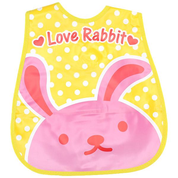 پیشبند کاسه ای فلکسی مدل LOVE Rabbit