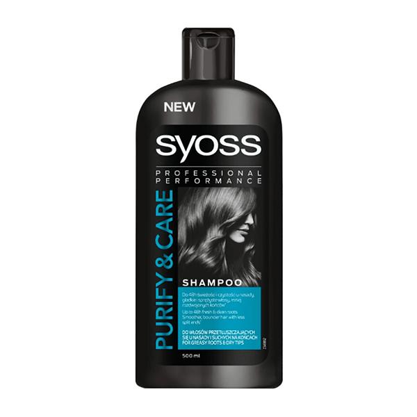 شامپو مناسب موهای چرب سایوس SYOSSحجم 500 میل