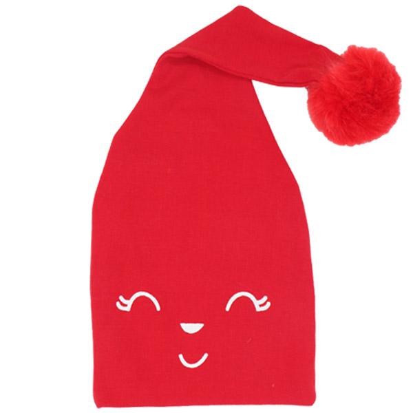 کلاه pom pom شیطونی لایت رنگ قرمز
