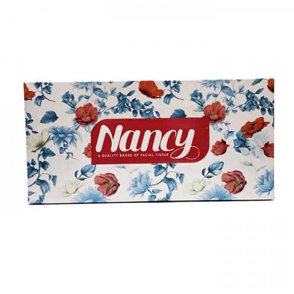 دستمال کاغذی 100 برگ دو لایه نانسی طرح نازلی