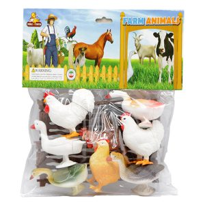 اسباب بازی مزرعه حیوانات کد 3164