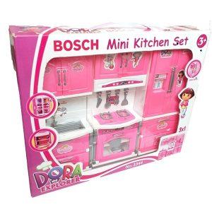 اسباب بازی آشپزخانه Mini Kitchen Set دورا DORA طرح بوش مدل 5566