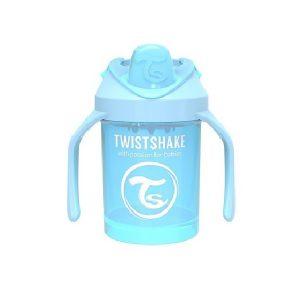 لیوان آبمیوه خوری دسته دار تویست شیک TWISTSHAKE آبی پاستلی 230 میل