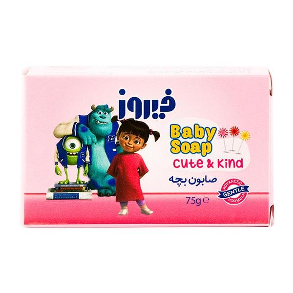 صابون بچه فیروز مناسب برای انواع پوست 75 گرم