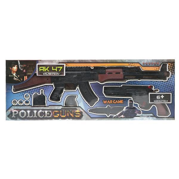 اسباب بازی تفنگ کلت و کلاشینکف مدل AK47