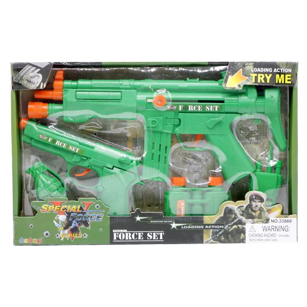 ست اسباب بازی مسلسل مدل WORLD POLICE کد 33850