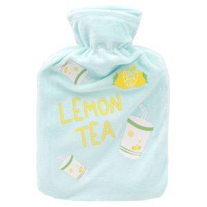 کیسه آب گرم  کودک مدل Lemon Tea آبی