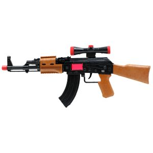ست تفنگ اسباب بازی کلاش و نارنجک کد K47.J