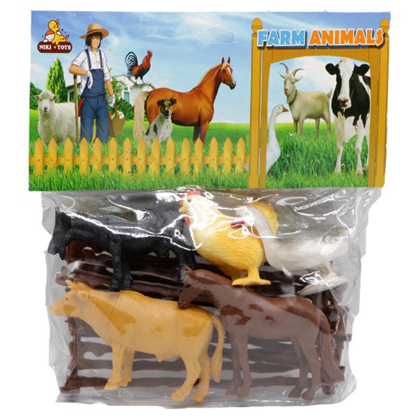 اسباب بازی مزرعه حیوانات کد 3171
