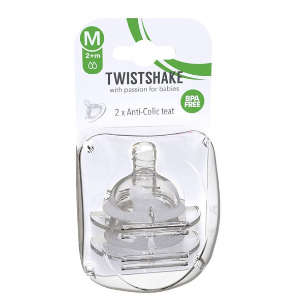 سر شیشه 2 قطره Medium تویست شیک TWISTSHAKE بسته 2 عددی