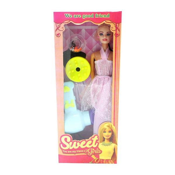 ست اسباب بازی عروسک باربی مدل sweet کد 307