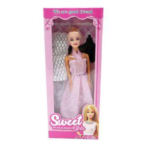 ست اسباب بازی عروسک باربی مدل sweet کد 284