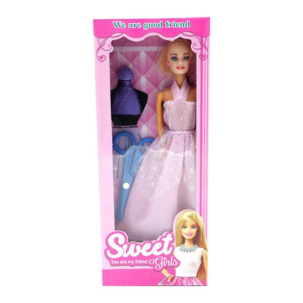 ست اسباب بازی عروسک باربی مدل sweet کد 291