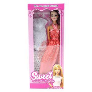 ست اسباب بازی عروسک باربی مدل sweet کد 253