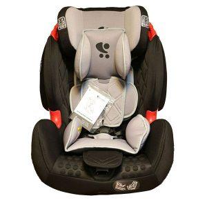 صندلی ماشین کودک ایزوفیکس دار Lorelli رنگ مشکی و طوسی روشن