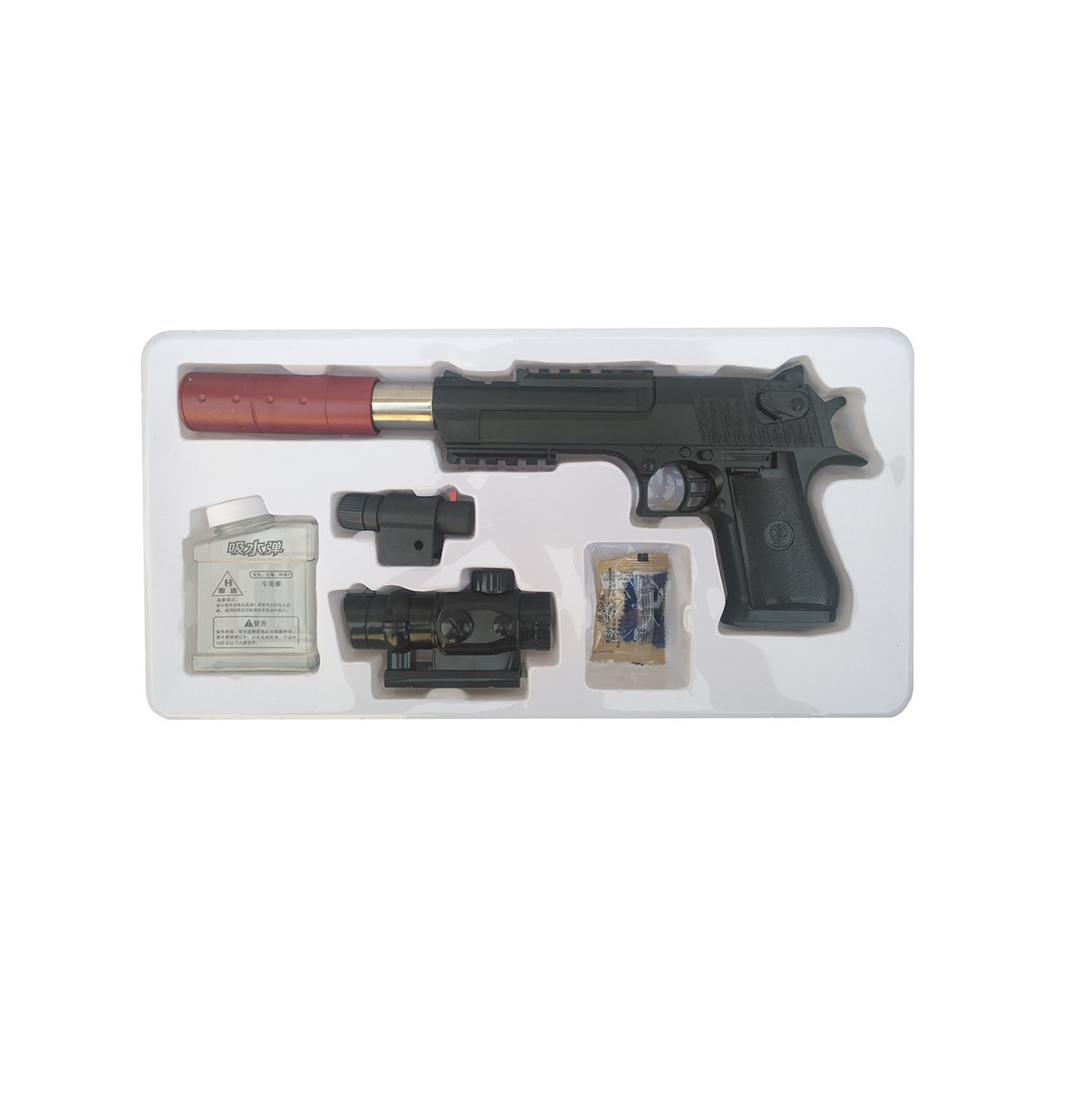 تفنگ اسباب بازی مدل DESERT EAGLE کد H1A