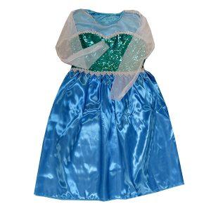 ست تاج و لباس کودک فروزن