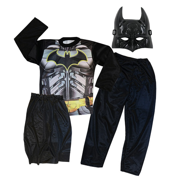ست ماسک و لباس کودک BAT MAN