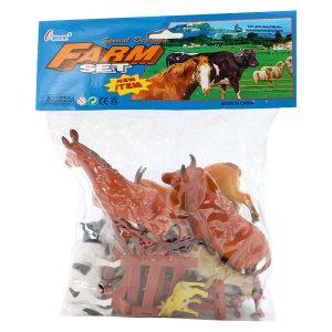 اسباب بازی مزرعه حیوانات مدل 666