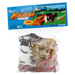 اسباب بازی مزرعه حیوانات مدل 673
