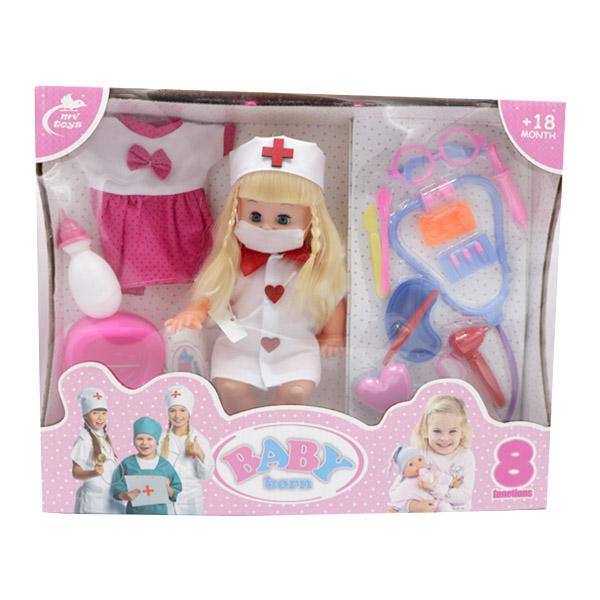 عروسک دختر پرستار بیبی بورن BABY born مدل 644