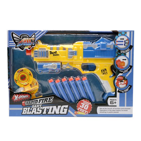 تفنگ اسباب بازی ساچمه ای نرم مدل X- POWER