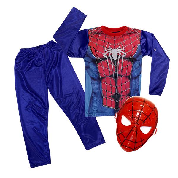 ست ماسک و لباس کودک SPIDER MAN