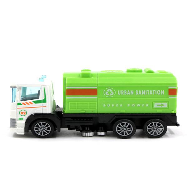 ماشین جمع آوری زباله شهری مدل کلکسیونی کد 390