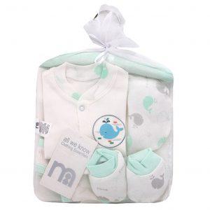ست بیمارستانی 7 تکه نوزاد مادرکر Mothercare کد 307