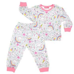 ست لباس خواب دخترانه یونیکو Unico کد 102