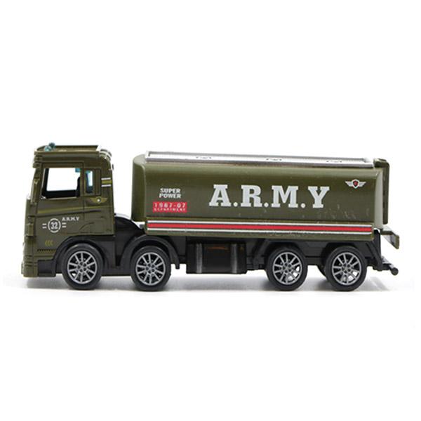ماشین اسباب بازی تانکر حمل سوخت نظامی مدل کلکسیونی کد 690